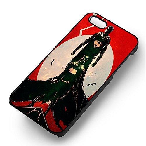 Superman v Batman Red Nebula pour Coque Iphone 6 et Coque Iphone 6s Case (Noir Boîtier en plastique dur) B5C0VG