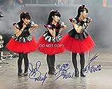 #10: Babymetal Japenese Heavy Metal Trio Reprint Signed Autographed 8x10 Photo #2 RP …