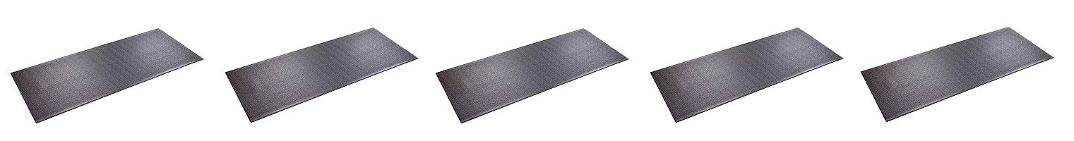 SuperMats High Density Commercial Grade Solid Equipment Mat 29GS Made in U.S.A. for Large Treadmills Ellipticals Rowers Water Rowing Machines Recumbent Bikes and Exercise Equipment (5)