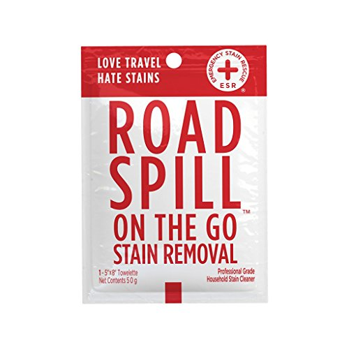 Stain Removal Wipes - Road Spill On the Go Stain Removal Wipe