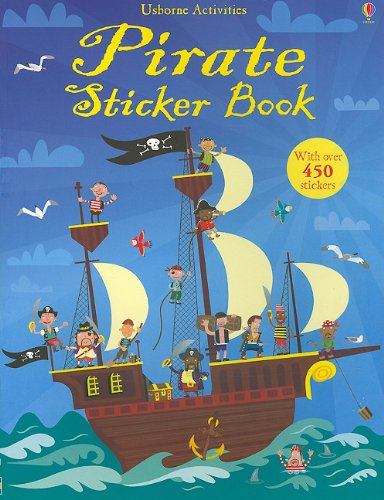 - Pirate Sticker Book (Sticker Activity Books)