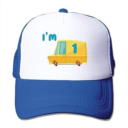 7fa4f110a84 Amazon.com  Fond dream Mesh Baseball Caps Dump Truck I m 1 Unisex ...