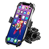 WAAO Universal Premium Bike Phone Mount Motorcycle – Bike Handlebars, Adjustable, Fits iPhone Xs Max X 8 7 6S 6 Plus Galaxy S7, S6, S5, Holds Phones Up to 3.5″ Wide Review