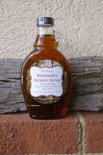 Falling Bark Farm, Original Hickory Syrup, 8 oz (Syrup Shagbark)