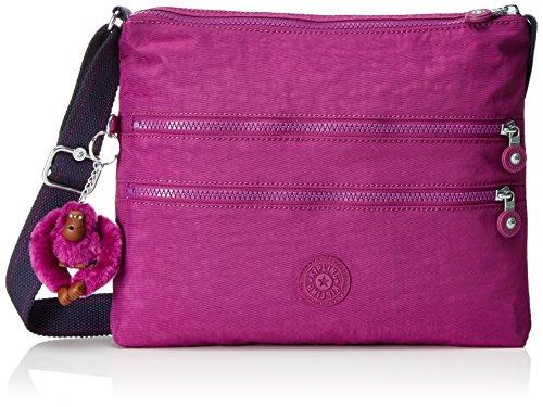 Kipling Alvar - Bolsos bandolera Mujer Rosa (Urban Pink C)