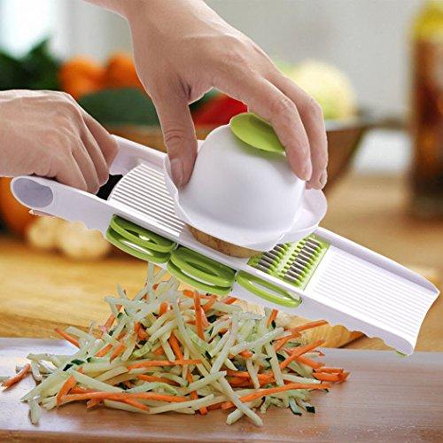 PER-HOME Multi Mandoline Slicer - Vegetable Slicer - Food Slicer Grater Kitchen Set