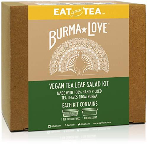 Burma Love Fermented Tea Leaf Salad Kit - Recipes of Burma Superstar - USDA organic tea leaves - Made in San Francisco - Packed for freshness
