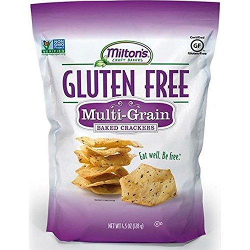 Miltons Multi Grain Cracker, 4.5 Ounce - 12 per case. -