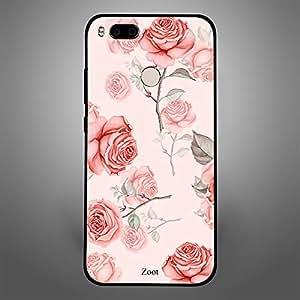 Xiaomi MI A1 Peach Roses Thorns