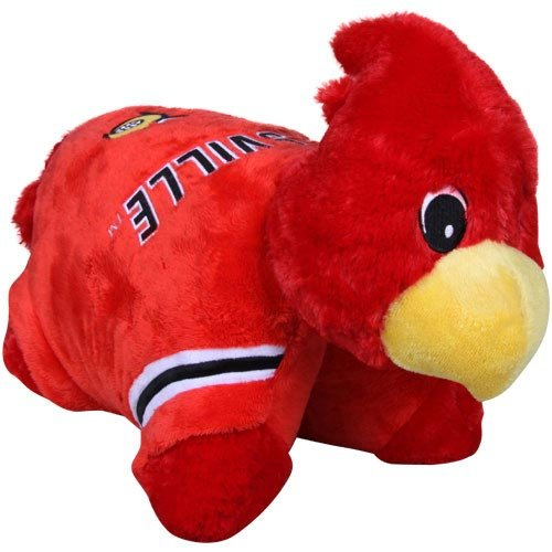 Fabrique Innovations NCAA Pillow Pet, Louisville Cardinals