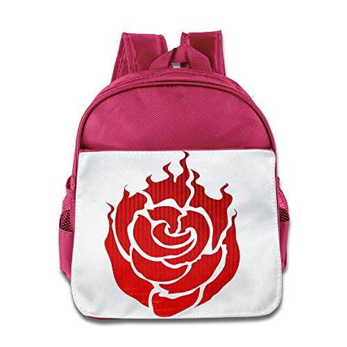 [JXMD Custom Personalized Rwby Ruby Rose Symbol Boys And Girls School Bag For 1-6 Years Old Pink] (Smurf Costume 2 Year Old)