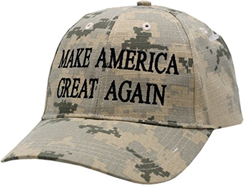 Make America Great Again Digi Camo Velcro Back Hat-10746