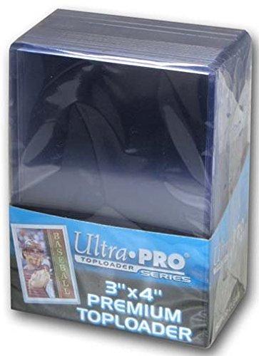 Ultra Pro 3'' X 4'' Super Clear Premium Toploader 100ct