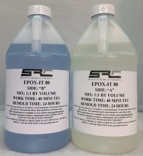 Price comparison product image Clear Epoxy Resin for Bar Tops,  Encapsulating,  or Casting (1 Gallon)