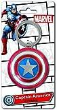 Marvel Captain America Shield Pewter Key Ring