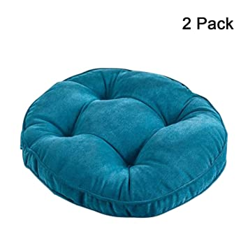 Amazon.com: Cojín para silla de patio de Papasan sólido ...