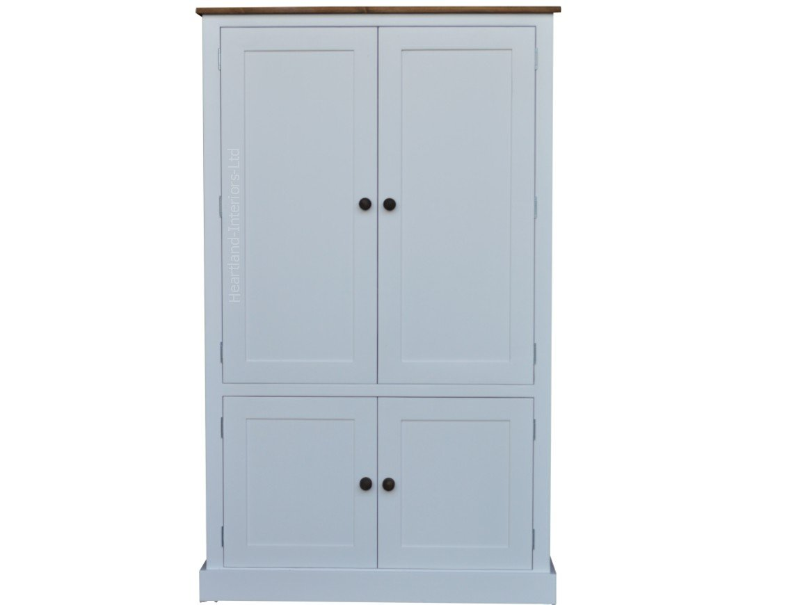 cupboards audiobook sideboard with heartland wood painted co no unit drawers flat solid pine base white packs amazon cupboard wide uk assembly dresser dp