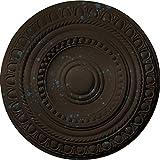 Ekena Millwork CM15ARBBS 15-3/4'' x 1-3/8'' Artis Ceiling Medallion, Bronze Blue Patina