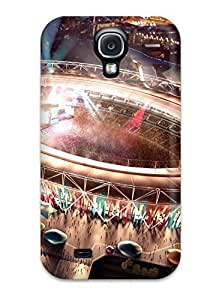 Hot Style BRCKeet176zYcEw Protective Case Cover For Galaxys4(london 2012 Olympic Stadium)