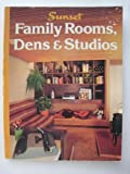Family Rooms, Dens and Studios, Sunset Publishing Staff, 0376011327