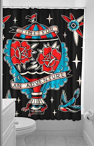Sourpuss SPSC16BLK NS Adventure Curtain