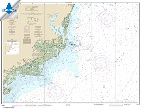 (Paradise Cay Publications NOAA Chart 11531: Winyah Bay to Bulls Bay 35.4 x 46 (WATERPROOF))