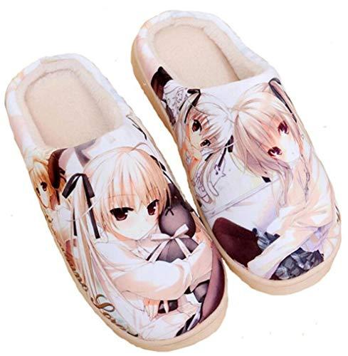 Zapatillas Cálidos Casa Japanese Anime Zapatos Yosuga No Felpa Antideslizante Sora Suave De Interior Lindos Cosstars fHIwxYqznq