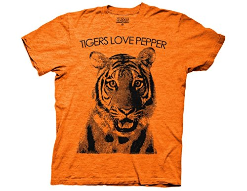 (Ripple Junction The Hangover Tiger Loves Pepper Adult T-Shirt Small)