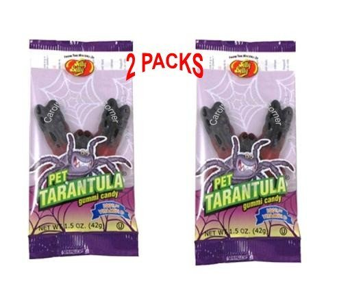 Jelly Belly 1.5 Oz. Gummi Pet Tarantula - Pack of 2 (Jelly Rat)