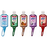 Purell Advanced Hand Sanitizer in Jelly Wrap Carriers, 1 Fl Oz, Scent May Vary, 5-Pack