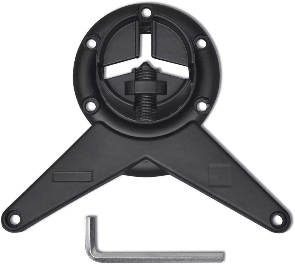 vidaXL 4x Pieds de Table /à Hauteur R/églable 1100 mm Supports pour Meubles