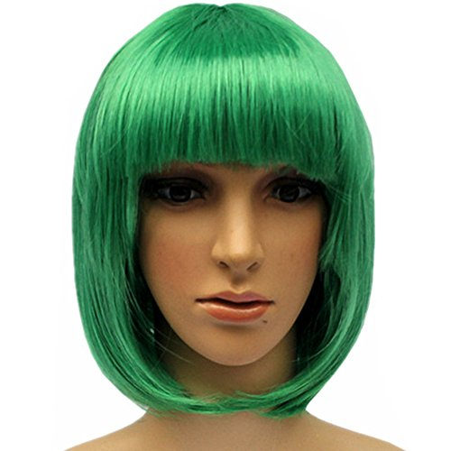 WeALake Cosplay Short Bob Hair Wigs 10