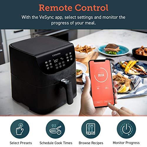 COSORI Smart WiFi Air Fryer 5.8QT - Alexa Compatible