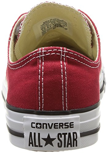 adulto Unisex Canvas Converse Ox Star Seasonal Sneaker Rojo Brique Rouge Rouge YwqH4w