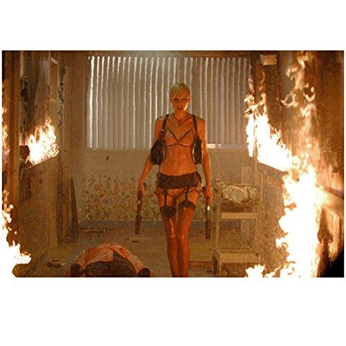 (The Transporter Kate Nauta as Lola Walking Through Fire 8 x 10 Inch Photo)
