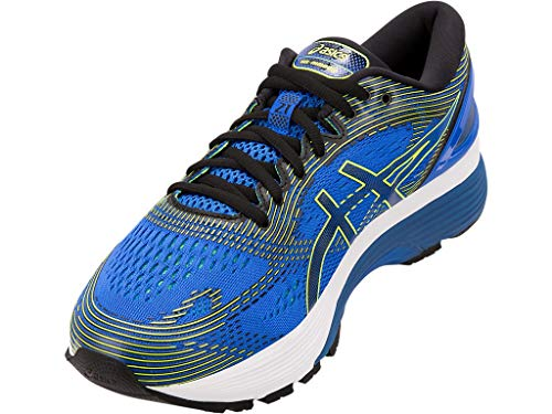ASICS Men's Gel-Nimbus 21 Running Shoes, 6M, Illusion Blue/Black by ASICS (Image #1)