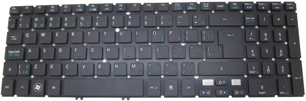 Laptop Keyboard for ACER Aspire M3-581G M3-581PT M3-581PTG M3-581T M3-581TG M5-581G M5-581TG V5-551 V5-551G V5-571 V5-531 TravelMate P276-M P276-MG Canada CA NO Frame