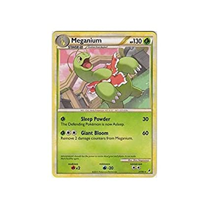 Pokemon - Meganium (27) - Call Of Legends: Amazon.es ...