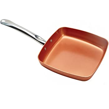 Amazon Com Copper Chef 9 5 Inch Square Frying Pan