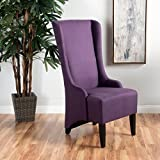 Cheap Christopher Knight Home 299948 Callie Plum Fabric Dining Chair