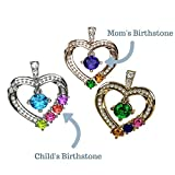 NANA Mother & Child Heart Pendant/Necklace 1-6