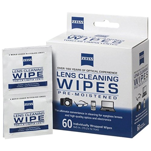 ZEISS 000000 2127 721 Box Lens Wipes (60-Count) Camera Accessories