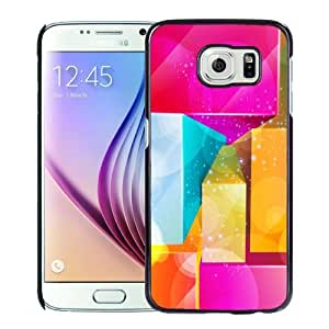 New Personalized Custom Designed For Samsung Galaxy S6 Phone Case For 3D Colored Cuboids Phone Case Cover