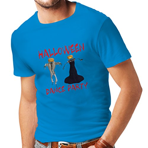 (T Shirts for Men Cool Halloween Party Events Costume Ideas, (X-Large Blue Multi)