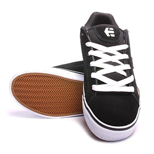 Etnies scarpe skate FADER VULC SMU nero bianco grigio