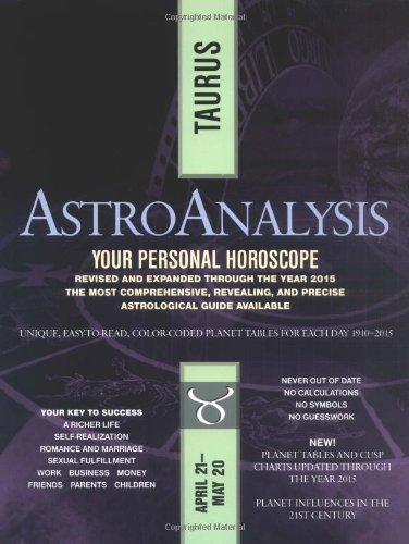 AstroAnalysis: Taurus (AstroAnalysis Horoscopes): Amer