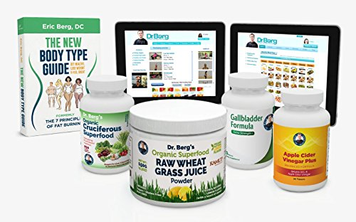 Dr. Berg's Liver Body Type Kit - Rejuvenate Your Metabolism & Support Your Specific Body Type - By Dr. Berg by Dr. Berg's Nutritionals