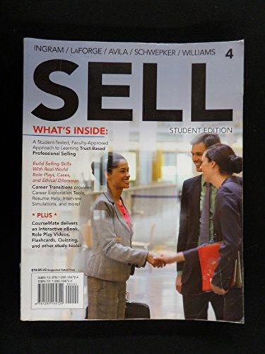Sell-2013 Student Edition (3rd, 13) by Ingram, Thomas N - LaForge, Raymond W - Avila, Ramon A - Sch [Paperback (2012)]
