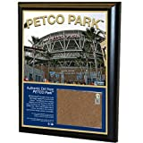 MLB San Diego Padres Petco Field 8x10-Inch Game Used Dirt Plaque Photomint