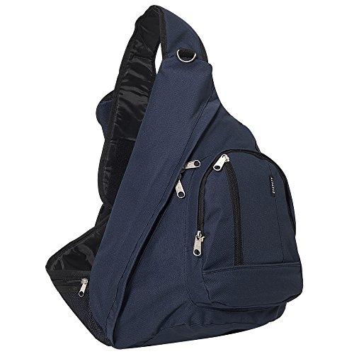 Everest Sling Bag, Navy, One Size - Navy Sling